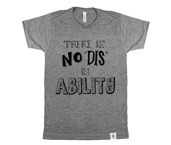No Dis Adult (Grey)