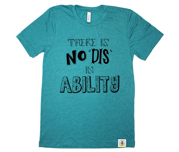 No Dis Unisex Adult (Teal)