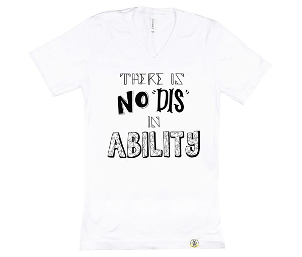 No Dis Unisex Adult (White)