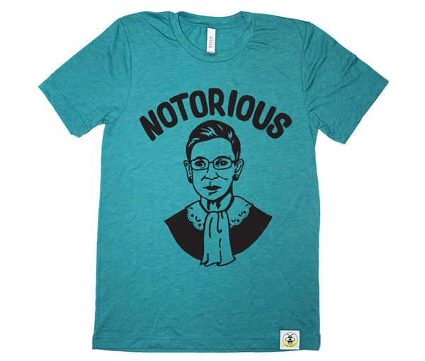 Notorious RBG Adult (Teal)