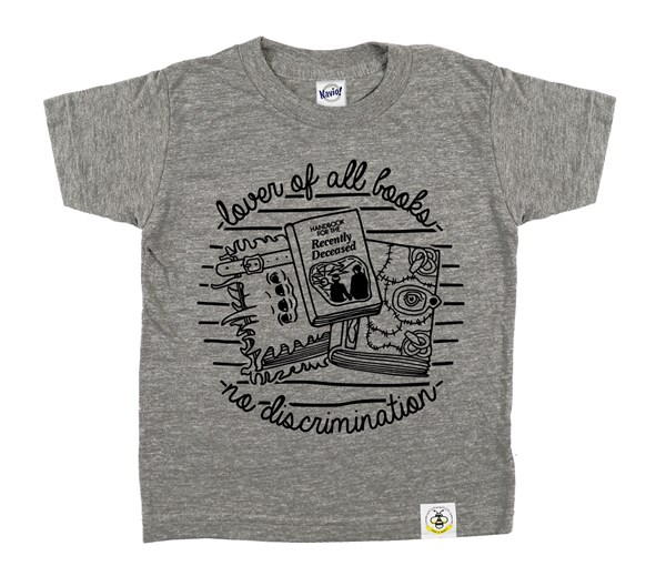 Book Lover (Grey)