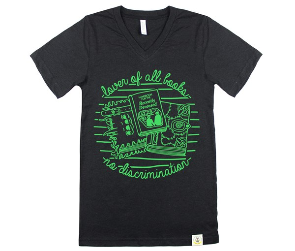 Book Lover (Adult V-Neck)