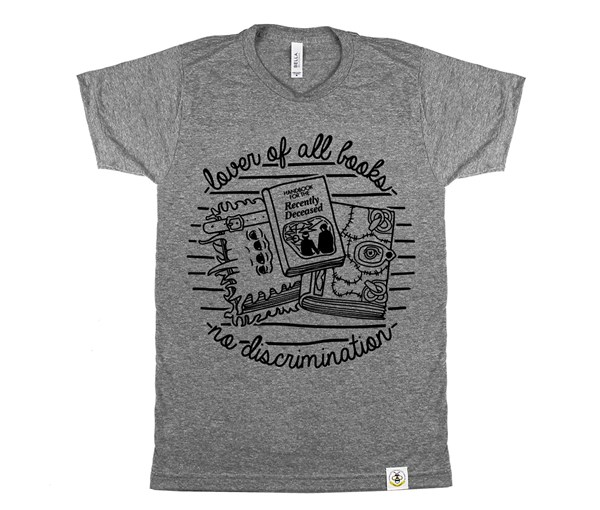 Book Lover Adult (Grey)