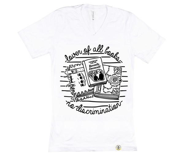 Book Lover Unisex Adult (White)