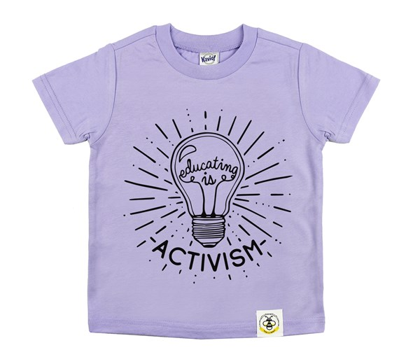 Educating Is Activism (Lavender)