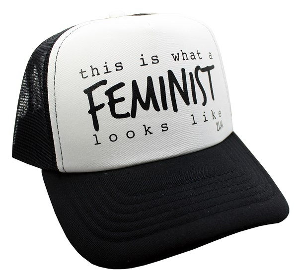 Feminist Trucker Hat (Kids)