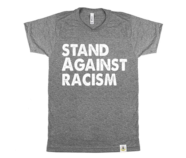 Stand Against Racism (Unisex, Grey)