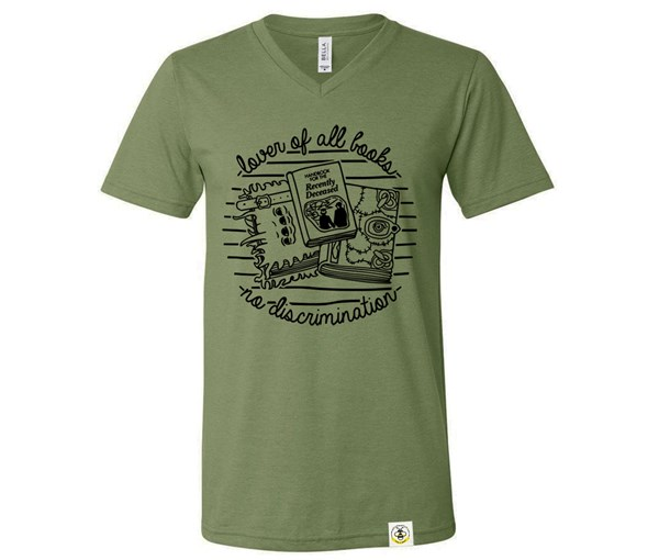 Book Lover Adult (Military Green)