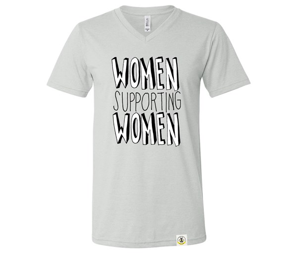 Women Supporting Women Adult Unisex (Silver)
