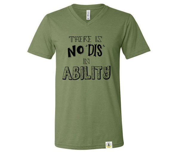 No Dis (Adult V-Neck)
