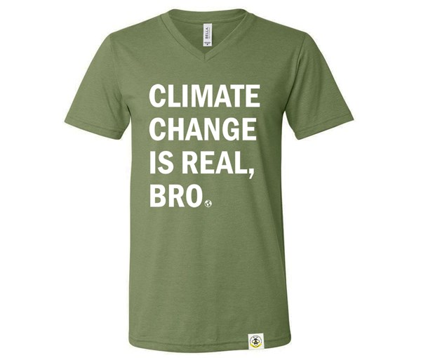 Climate Change Adult (Military Green)