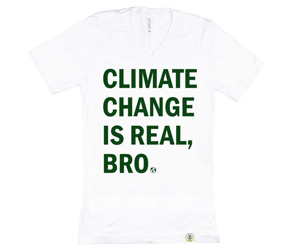 Climate Change Adult (White/Green)