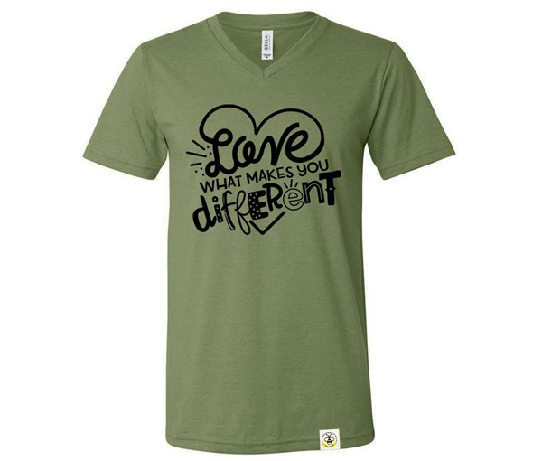 Different (Adult V-Neck)
