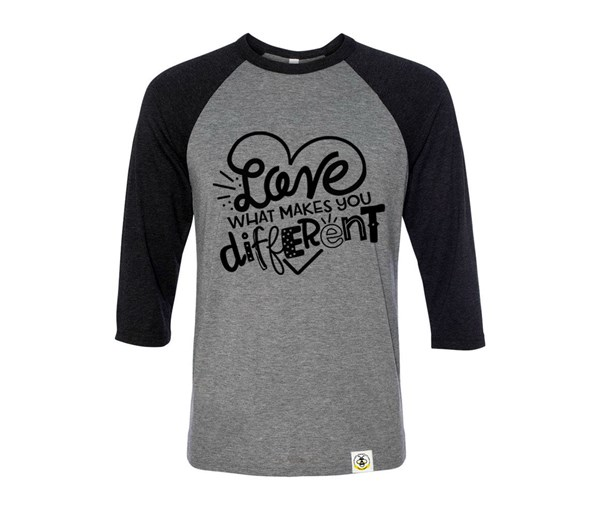 Different Adult Unisex Raglan