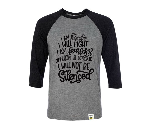 Not Silenced Adult Unisex Raglan