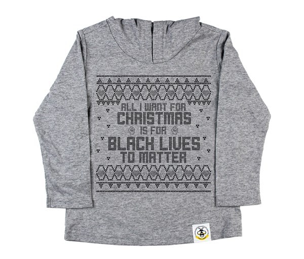 All I Want Hooded Tee (Grey)