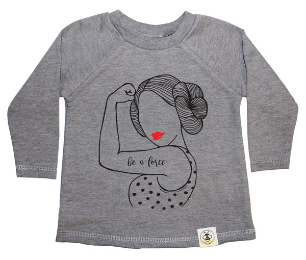 Be a Force French Terry Long Sleeve (Grey)