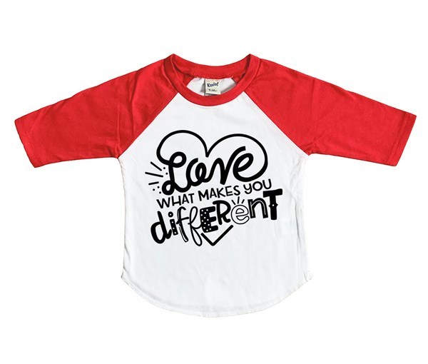 Different (Kids Raglan)