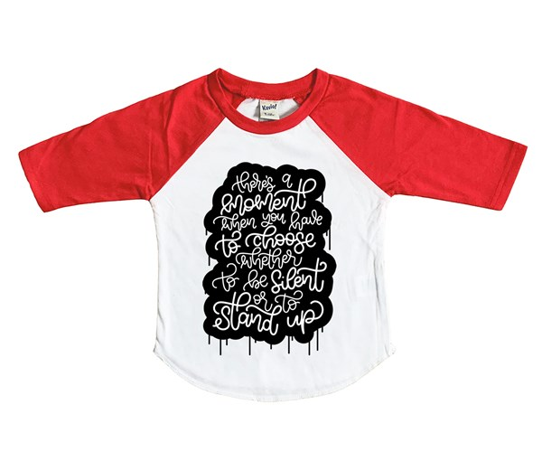 Stand Up (Kids Raglan)
