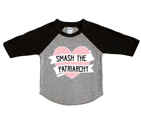 Smash the Patriarchy (Kids Raglan)