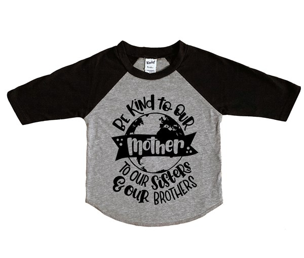 Love Your Mother (Kids Raglan)