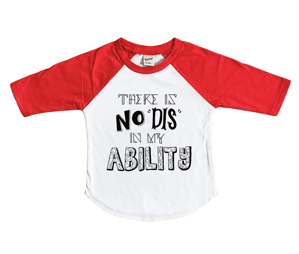 My Ability (Kids Raglan)