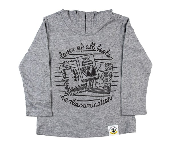 Book Lover (Kids Hooded Tee)