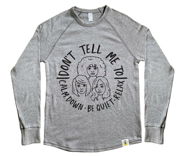 Calm Down Adult Unisex Vintage Knit Pullover