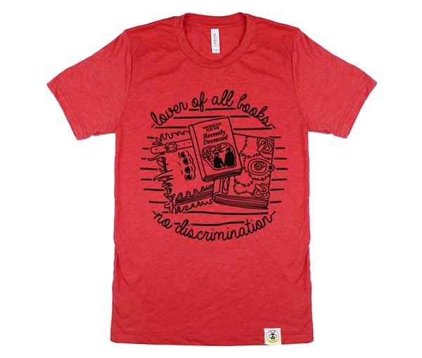 Book Lover Adult (Red)