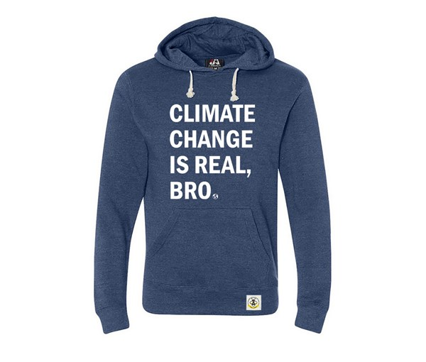 Climate Change (Adult Unisex Hoodie)