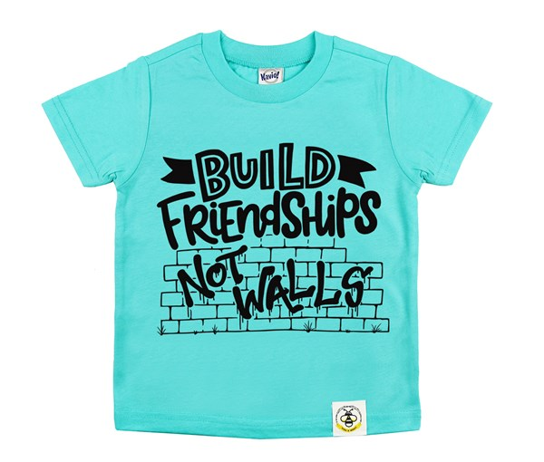 Build Friendships (Caribbean Blue)