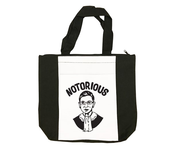 Notorious Tote Bag (Black/White)