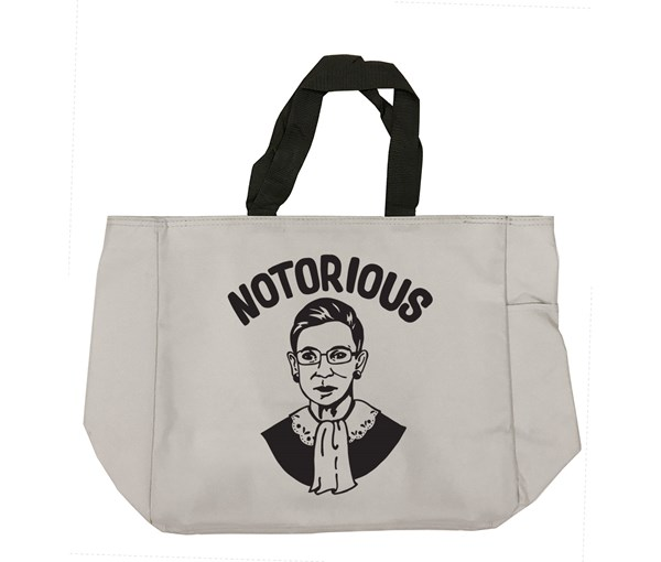 Notorious Tote Bag (Grey)