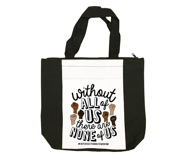 All or None Tote Bag (Black/White)