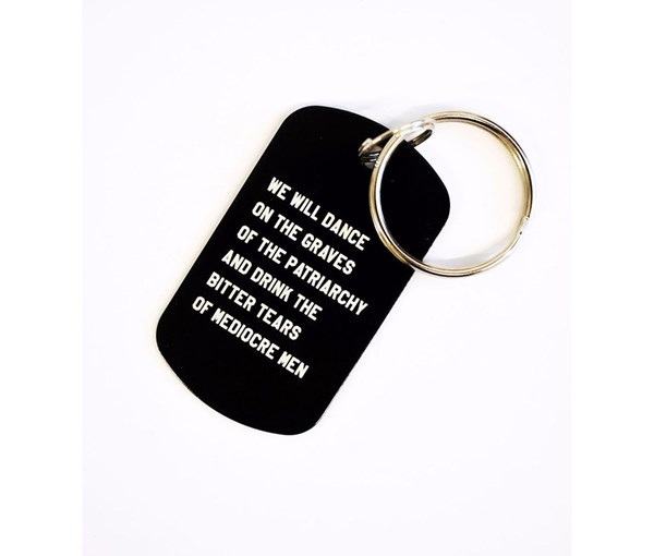 Mediocre Men Key Chain
