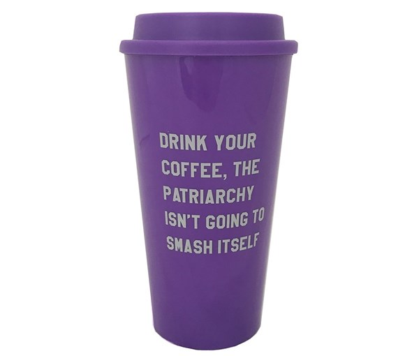 Drink Your Coffee Travel Coffee Mug