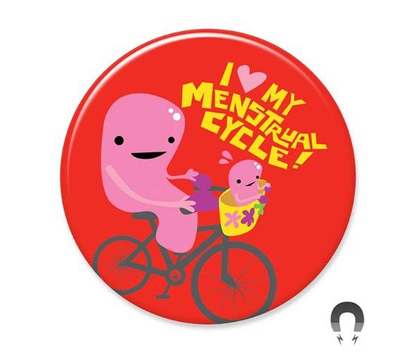 Menstrual Cycle Magnet