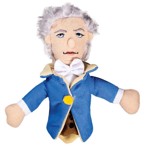 Magnetic Personalty Puppet: Alexander Hamilton (Finger Puppet + Magnet)