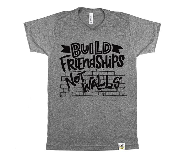 Build Friendships Adult (Grey)