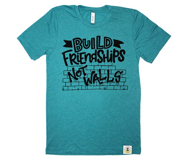 Build Friendships Adult (Teal)