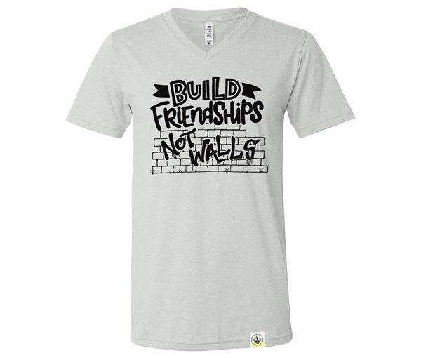 Build Friendships (Adult V-Neck)