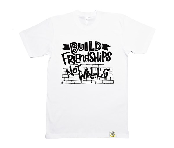 Build Friendships Adult (White)