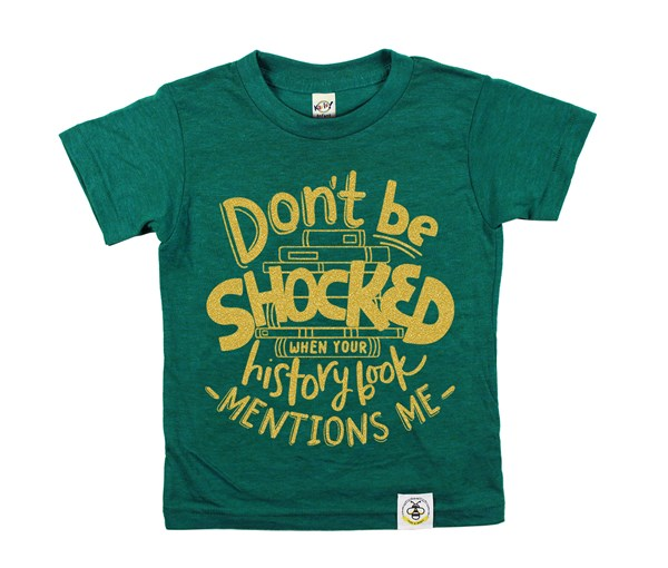 Don't Be Shocked (Green--Limited Edition Gold)