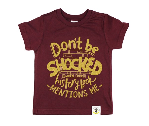 Don't Be Shocked Kids Crew (Limited Edition Gold)