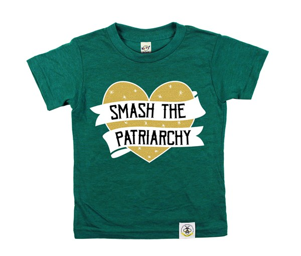 Smash the Patriarchy (Green--Limited Edition Gold)