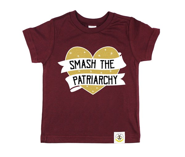 Smash the Patriarchy (Wine--Limited Edition Gold)