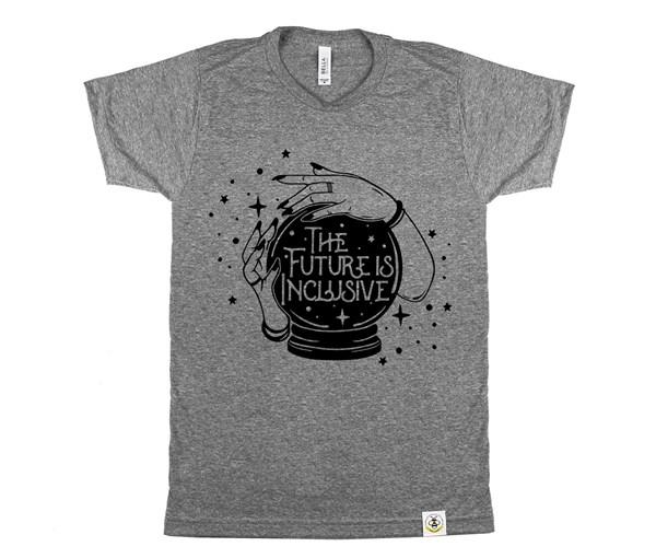 The Future is Inclusive Adult Crew (Grey)