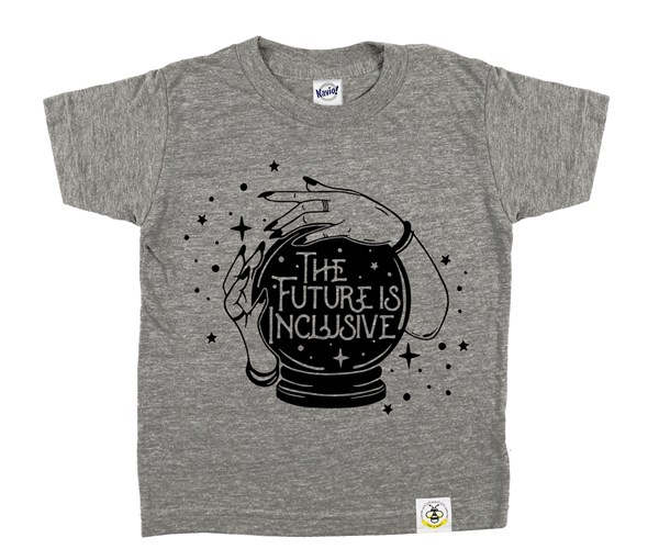 The Future is Inclusive (Grey)