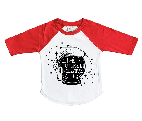 Inclusive (Kids Raglan)