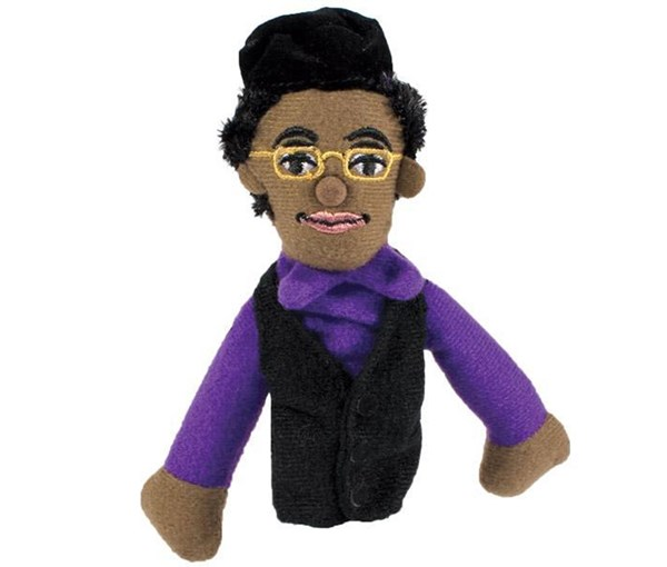 Magnetic Personalty Puppet: Rosa Parks (Finger Puppet + Magnet)